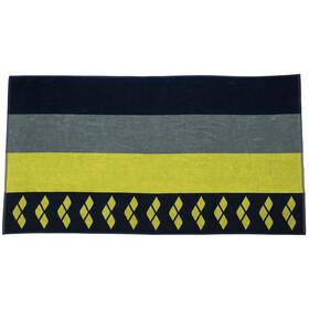 arena Beach Multistripes Towel, blu/colorato